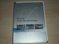 56396) Audi A3 TFSI Pressemappe 06/2005