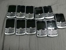 Lot of 11 Blackberry Cell Phones - Various Models Vintage 8330 8300 Verizon