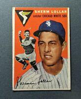 1954 Topps #39 Sherm Lollar Chicago White Sox PR