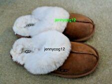 Ugg Australian Oz Designer Chestnut tan brown sheepskin slippers 13 BNWOT