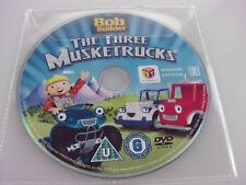 Bob the Builder DVD R2 PAL - LOS TRES musketrucks Infantil - DISCOS