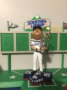 Justin Turner Los Angeles Dodgers World Series Champion Bobblehead