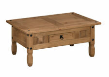 Antique Style 60cm-80cm Height Coffee Tables with Shelves