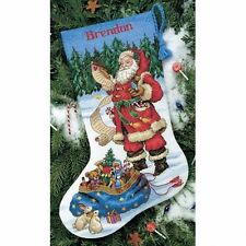 Dimensions-counted cross stitch-stocking kit-vérifiant sa liste-D08645