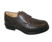 Sandro Moscoloni Mens Vineyard Derby Dress Shoes Mens Sz 11 D Brown Leather