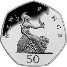 UK '50 New Pence'Circulation 50p  [Ref 562H]