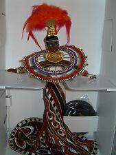 """BARBIE DA COLLEZIONE  """" AFRICA """" by BOB MACKIE  NUOVA NRFB ORIGINALE"""