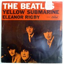 BEATLES 45 Yellow Submarine/Eleanor Rigby CAPITOL rock jf244
