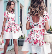 Women Ladies Summer Dresses Casual Evening Party Clubwear Ball Gown Short Dress