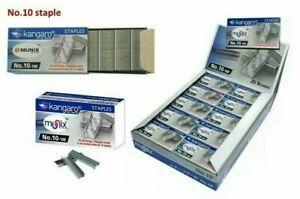 Kangaro Staples No.10-1M Staples Pin - 20000 pin (20 Box) | Office School