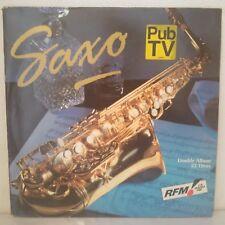 "Various–Saxo (2 x Vinyl 12"" LP Compilation)"