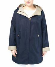 Jones New York Plus Size Hooded Raincoat Size 1X  MSRP $180  # FN 23