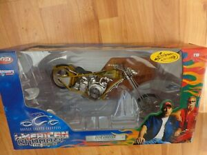 ERTL JOYRIDE 1/10 DIXIE CHOPPER - AMERICAN CHOPPER TV SERIES MOTORCYCLE BIKE