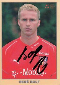 Rene Bolf  Tschechien  Fußball Autogrammkarte original signiert 370977