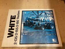 White farm equipment WFE Tractor LITERATURE brochure 2-155 2-180 2-135