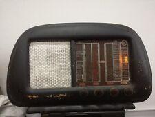 RADIO A VALVOLE Libertar FCD 102 Philips 5+1 valve Milano 1949