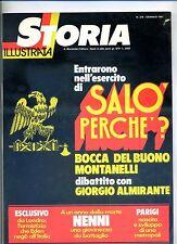 STORIA ILLUSTRATA#GENNAIO 1981 N.278#SALÒ#NENNI GIOVANE#PARIGI#Mondadori