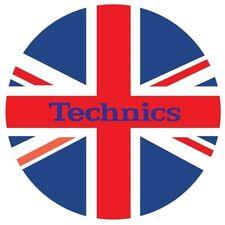 TECHNICS SLIPMATS UK coppia panni sottodisco per DJ giradischi NUOVO