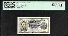 Tim Prusmack Money Art - Alabama State Quarter / Fractional Note - PCGS 68PPQ