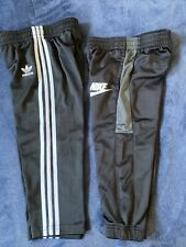 Nike And Adidas Toddler Boys Track Pants Black 3T