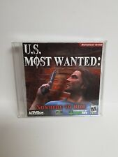 U.S. MOST WANTED ACTION PC CD ROM GAME