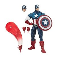 "Marvel Legends 6"" Comics 80 Years Captain America Steve Rogers Walmart Sealed"