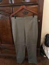 Tribal Heather Leggings Taupe/black  New Size 14 Retailed $98.00