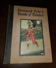 VINTAGE BOOK HOWARD PYLE THE BOOK OF PIRATES