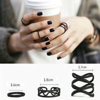 3stk Midi Ring Fingerspitzenring Above Knuckle Nagelring Obergelenkring-Set Mode