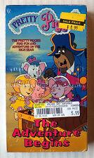 Pretty Piggies - The Adventure Begins ~ New VHS  Rare Hi-Tops Video Kids Cartoon