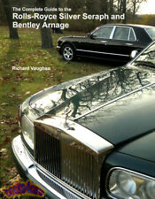 SILVER SERAPH ROLLS ROYCE BOOK VAUGHAN COMPLETE GUIDE