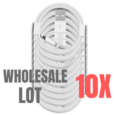 10X Wholesale Bulk Lot 3Ft 6Ft iPad iPhone Charger Lightning Charging Cable Cord
