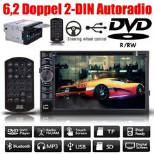 6,2 Zoll Doppel 2 DIN Autoradio USB DVD Bluetooth für TOYOTA Corolla RAV4 Hilux