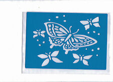 Plastic/pvc/pp / embossing/stencil/butterfly / multi/design/bendy
