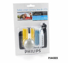 Philips Camera, iPod, iPhone, Screen, Lens, LCD, GPS, 5-Piece Cleaning and Care