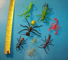 Insects Mixed Lot ( 8 ) Toy Figures