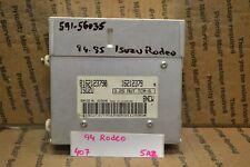 1994 1995 Isuzu Rodeo Transmission Control Unit TCU 8162123790 Module 407-5A2