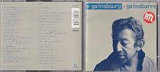 DOUBLE CD 42T SERGE GAINSBOURG DE GAINSBOURG A GAINSBARRE DE 1994