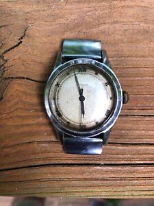 Vintage WW2 Gubelin Military Type Men's Watch