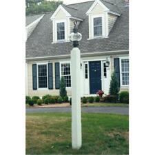 New England Woodworks SLP Square Lantern Post Primed White