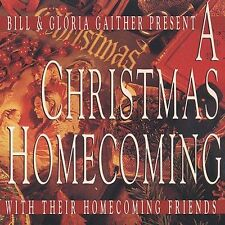 A Christmas Homecoming - Bill & Gloria Gaither (CD, Sep-2001) Friends FAST SHIP