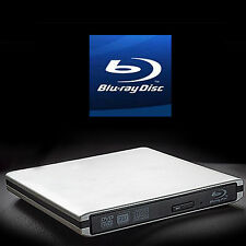 USB 3.0/2.0 external Laptop  Blu-Ray Disc Burner Writer recorder BD Drive PC