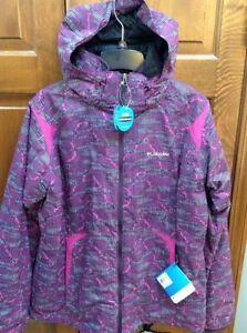 Columbia Arctic Freeze 3-in-1 Interchange Jacket Women M Purple Berry NWT XL7906