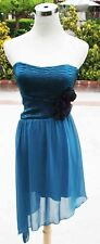 NWT WINDSOR $80 Teal Cocktail Prom Dance Party Dress 3