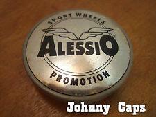 Alessio Wheels Silver Center Caps #4 Custom Wheel Silver Center Cap (1)