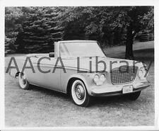 1961 Studebaker Lark Convertible Coupe, Factory Photo (Ref. #91769)