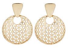 CLIP ON EARRINGS - gold luxury drop earring - Asia G