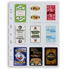 15 Lighthouse Grande 9 Pockets Trading Playing Cards Pages 3C Clear 3 Packs Deal