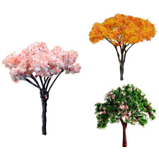 3PCS Mini Tree Miniature Dolls' House Garden Accessory Plant Fairy Ornament Fun