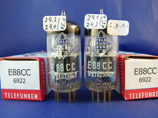 Matched Pair E88CC/CCa Telefunken <> # NOS # same production codes (9938)